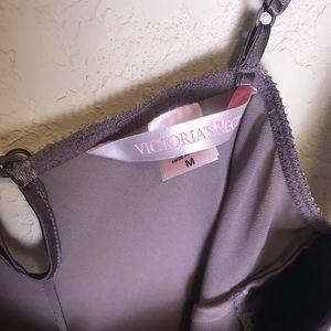 Victoria's Secret Intimates & Sleepwear - Victoria's Secret slip taupe size medium romper